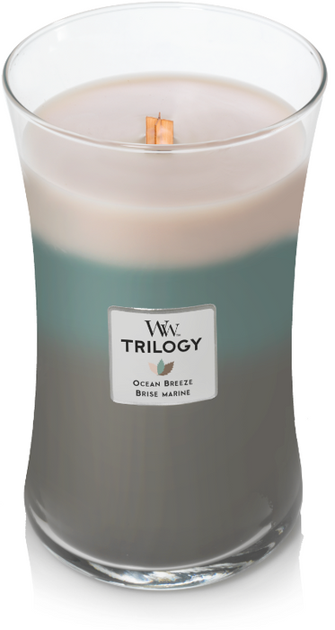 WoodWick Ocean Breeze Trilogy Large Candle