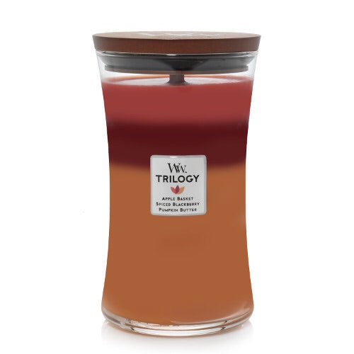 WoodWick Autumn Harvest Trilogy Large Geurskaars