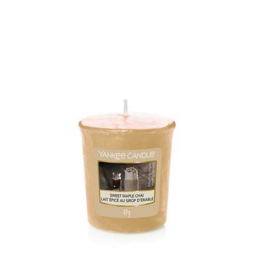 Yankee Candle Sweet Maple Chai Votive