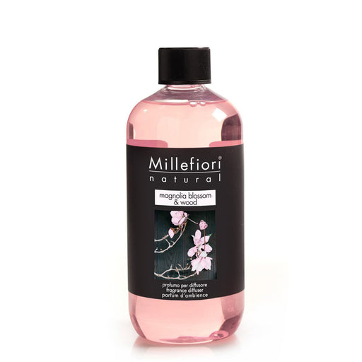Milefiori Milano Refill For Stick Diffuser 500 ml Magnolia Blossom & Wood