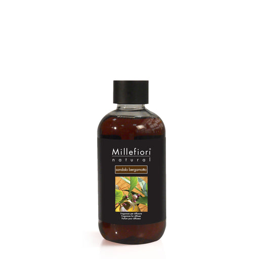 Milefiori Milano Refill For Stick Diffuser 250 ml Sandalo Bergamotto