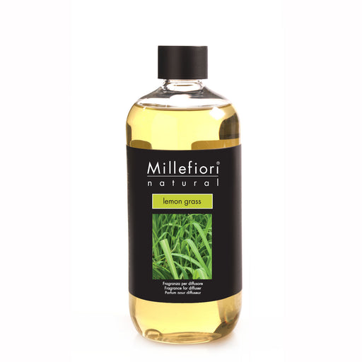 Milefiori Milano Refill For Stick Diffuser 500 ml Lemon Grass