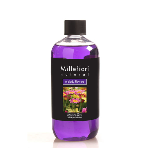 Milefiori Milano Refill For Stick Diffuser 500 ml Melody Flowers