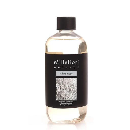 Milefiori Milano Refill For Stick Diffuser 500 ml White Musk