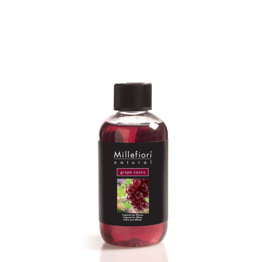 Milefiori Milano Refill For Stick Diffuser 250 ml Grape Cassis