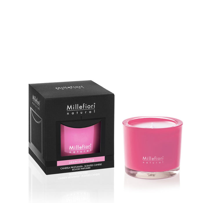 Milefiori Milano New Natural Scented Candle Jasmine Ylang