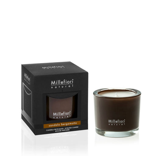 Milefiori Milano New Natural Scented Candle Sandalo Bergamotto