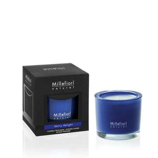 Milefiori Milano New Natural Scented Candle Berry Delight