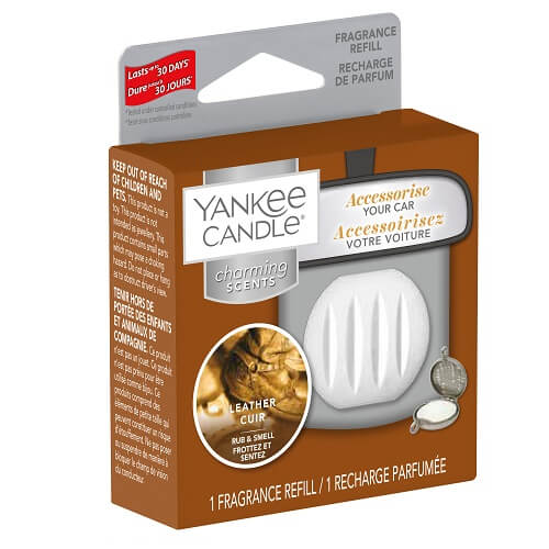 Yankee Candle Leather Charming Scents Refill