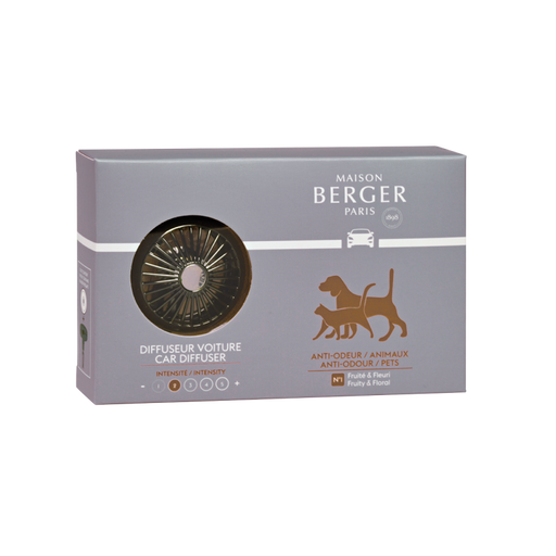 Maison Berger Paris Anti-odor Pets #1Fruity & Floral Car Diffuser