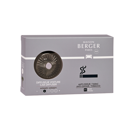 Maison Berger Paris Anti-odor  Tabacco #1Woody Car Diffuser