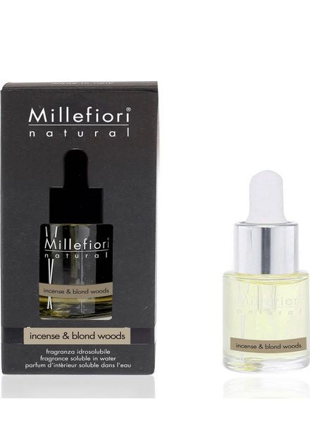 Millefiori Milano Incense & Blond Woods Geurolie