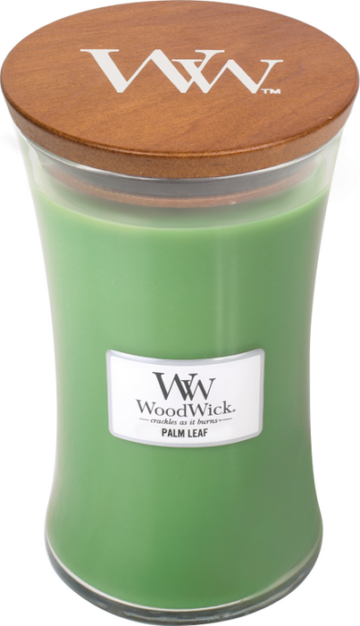 Woodwick Palm Leaf Large Candle