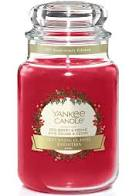 Yankee Candle Red Berry & Cedar Large Jar