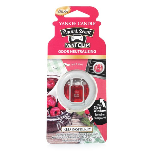 Red Raspberry Smart Scent Vent Clip