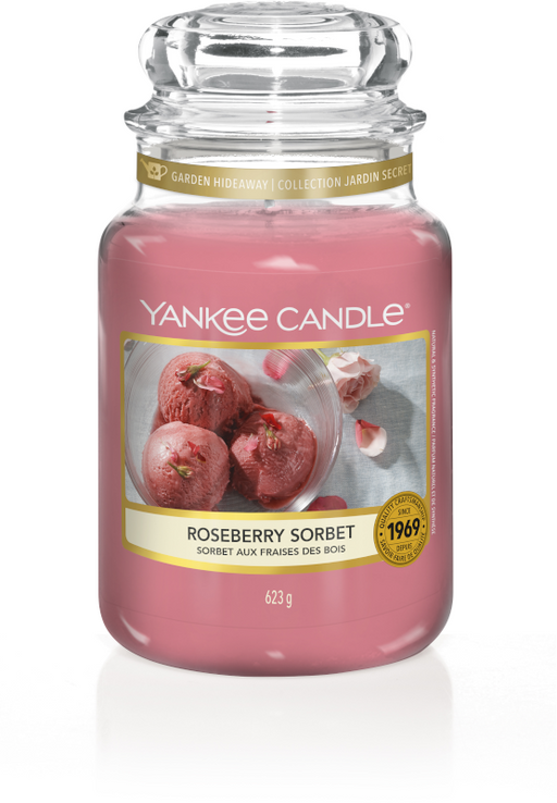 Yankee Candle Roseberry Sorbet Large Jar