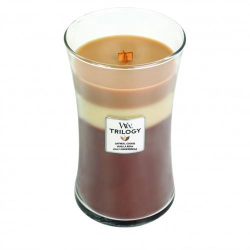 WoodWick Spiced Confection Trilogy Large Geurskaars