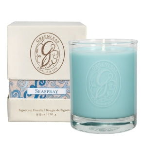 Greenleaf SeaSpray Box Jar Candle