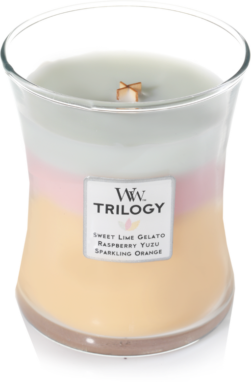WoodWick Summer Sweets Trilogy Medium Candle
