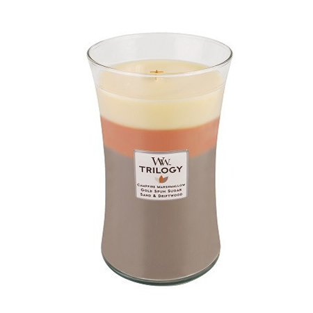 Sunset Bonfire Trilogy Large WoodWick Candle