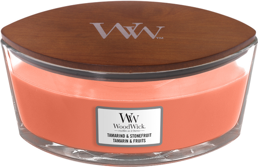 WoodWick Tamarind & Stonefruit Ellipse Candle