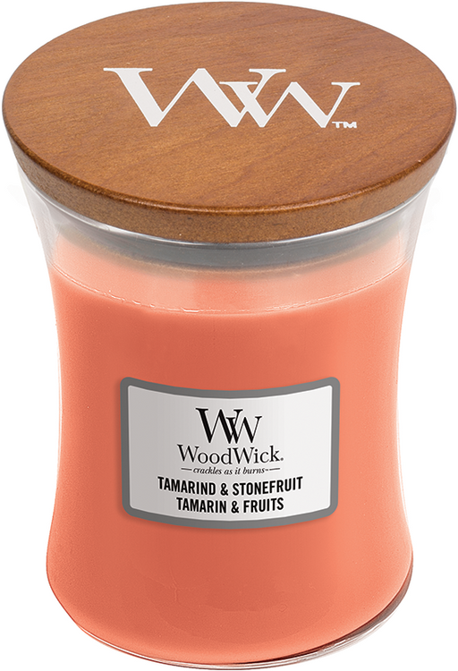 Woodwick Tamarind & Stonefruit Medium Candle
