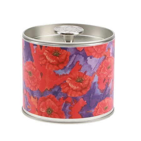 Greenleaf Signature Candle Tin Painted Poppy