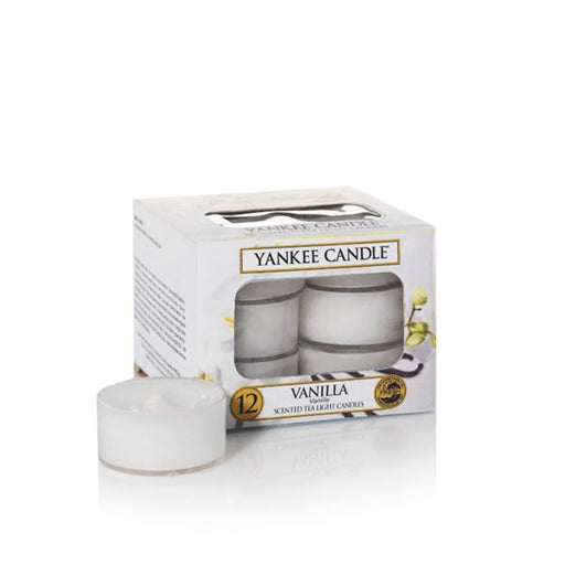 Yankee Candle Vanilla Tea Lights Geurkaarsen
