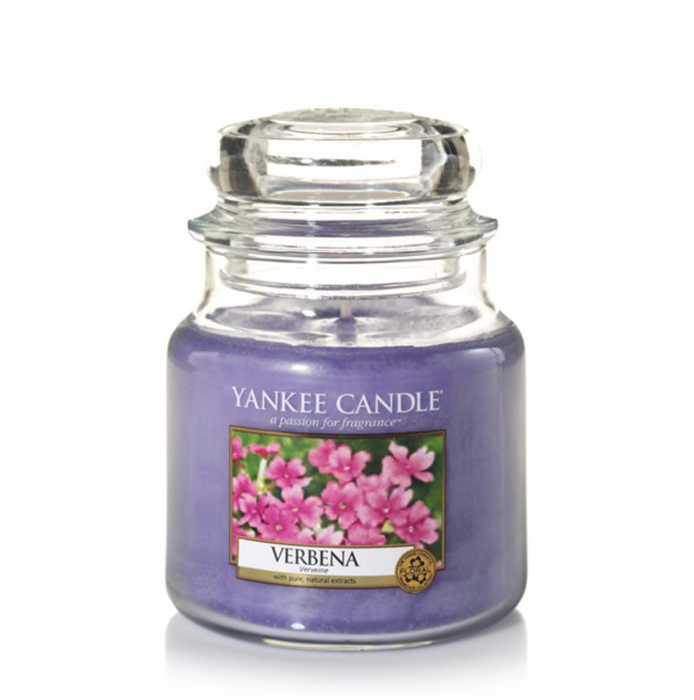 Yankee Candle Verbena Medium Jar Geurkaars