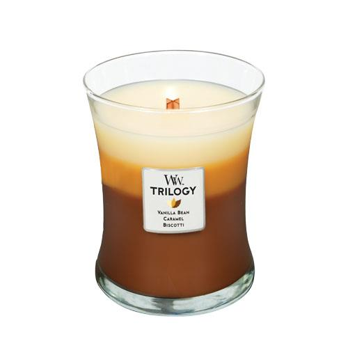 WoodWick Cafe Sweets Trilogy Medium Candle
