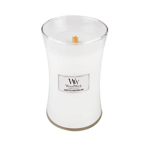 WoodWick Campfire Marshmallow Large Geurkaars