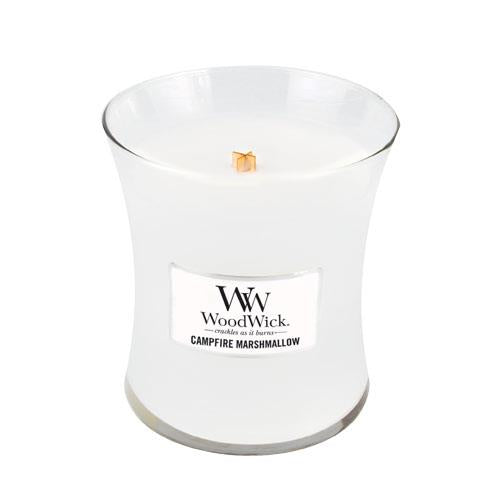 WoodWick Campfire Marshmallow Medium Geurkaars