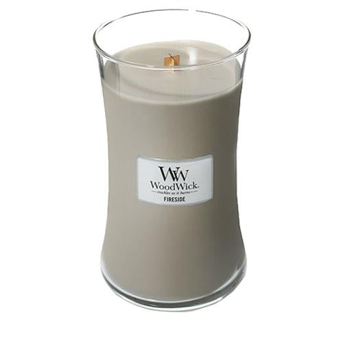 WoodWick Fireside Large Geurkaars