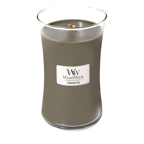 WoodWick Frasier Fir Large Geurkaars