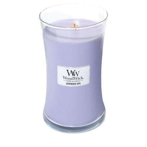 WoodWick Lavender Spa Large Geurkaars