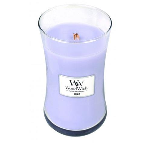WoodWick Lilac Large Geurkaars