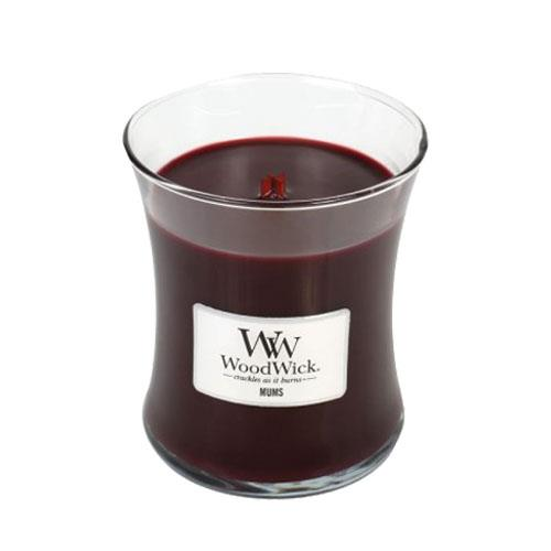 WoodWick Mums Medium Geurkaars