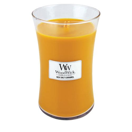 WoodWick Sea Salt & Caramel Large Candle