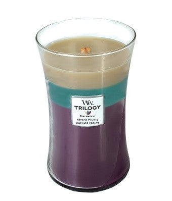 After Sunset Trilogy Large WoodWick Candle