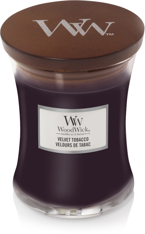 WoodWick Velvet Tobacco Medium Candle