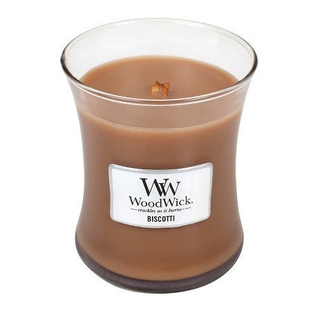 WoodWick Biscotti Medium Geurkaars