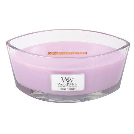 WoodWick Fresh Flowers Ellipse Geurkaars