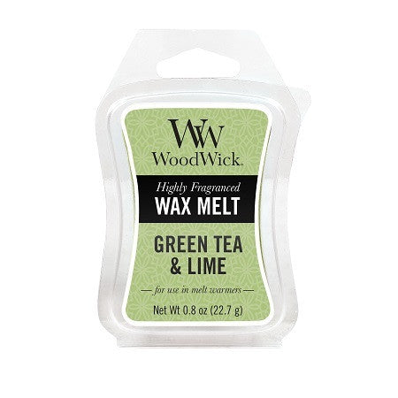 Green Tea & Lime Mini Wax Melt WoodWick