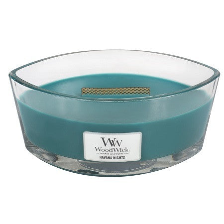 WoodWick Havana Nights Ellipse Candle
