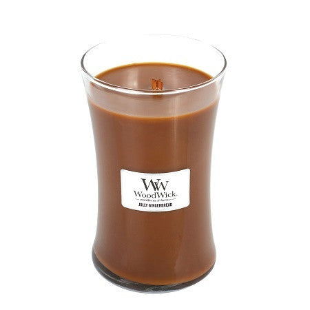 WoodWick Jolly Gingerbread Large Candle