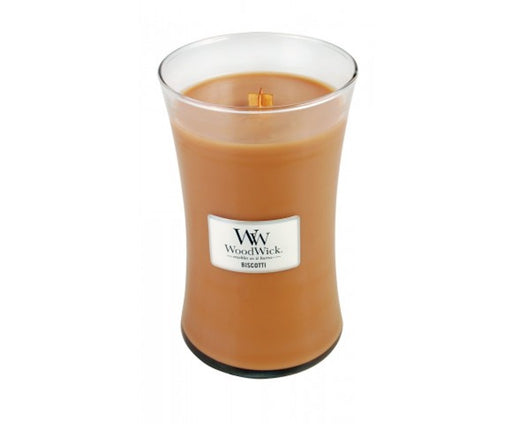 WoodWick Biscotti Large Geurkaars