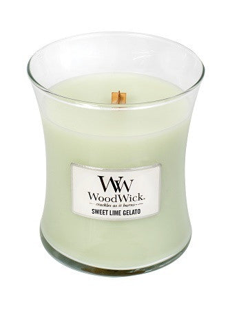 WoodWick® Medium Candle Sweet Lime Gelato