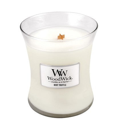 Mint Truffle Medium WoodWick Candle