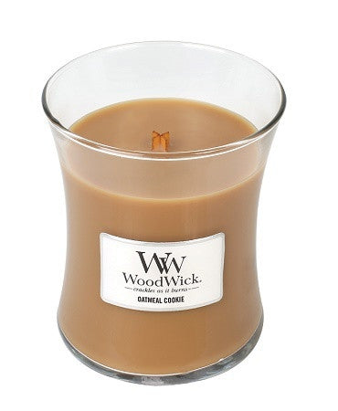 Oatmeal Cookie Medium WoodWick Candle