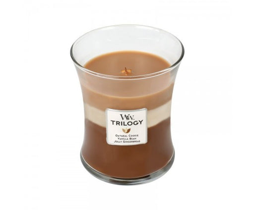 WoodWick Spiced Confection Trilogy Medium Geurkaars